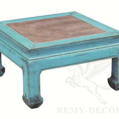 etnicheskij biryuzovyj stolik dlya kofe