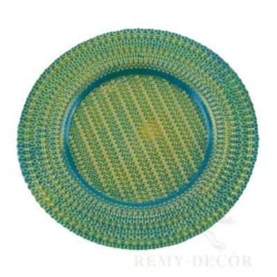 kupit sinyuyu podstanovochnuyu tarelku v flash blue v kieve