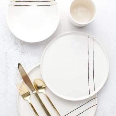 Тарелки сервировочные