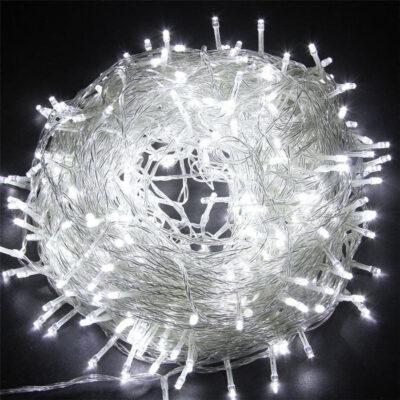 Световая гирлянда для ночного оформления свадеб теплый свет