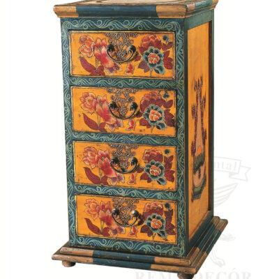 komod iz dereva s risunkom s vydvizhnymi yashhikami v kitajskom stile