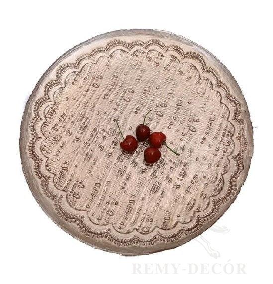 kupit optom v ukraine tarelku podstanovochnuyu rose