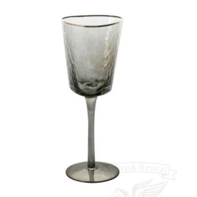 kupit v ukraine fuzher dlya vina iz temnogo stekla i zolotym obodkom