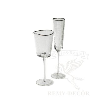 prozrachnye fuzhery iz stekla s serebryanoj okantovkoj