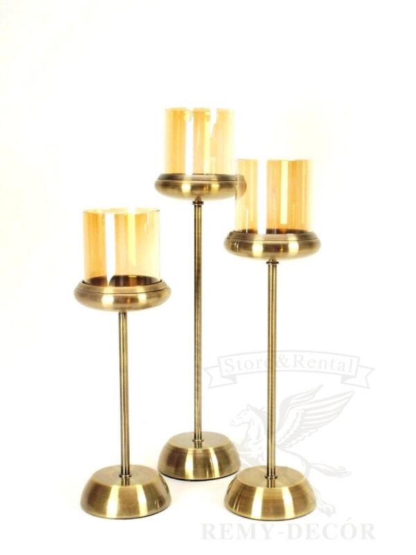 bronzovye podsvechniki so steklom kupit ukraina