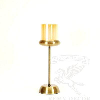 bronzovyj podsvechnik na odnu svechu kupit kiev