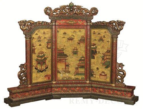 reznye shirmy iz dereva v tradicionnom kitajskom stile vostoka remi dekor