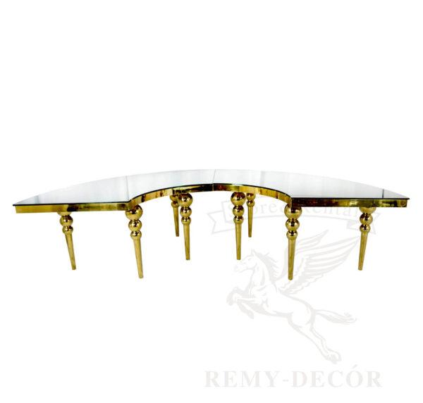 steklyanyj stol half moon kupit v ukraine dugoobraznyj stol iz zolotogo metalla