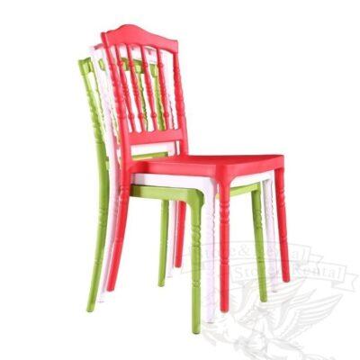 kachestvennye plastikovye stulya kyavari napoleon dlya ulicy i doma cveta belyj chernyj krasnyj zelenyj prozrachnyj