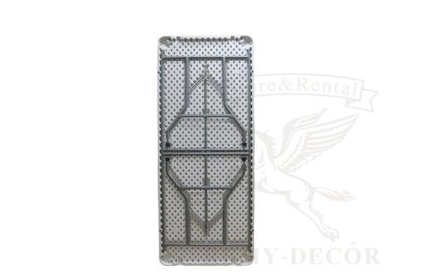 belyj raskladnoj banketnyj plastikovyj stol v kieve