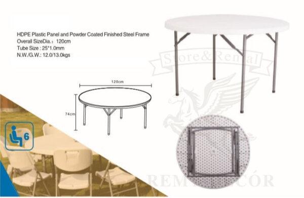 kruglye plastikovye belye stoly ot fabriki proizvoditelya optom v ukraine