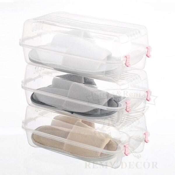 plastikovye korobki dlya xraneniya domashnix tapochek ked tuflej krosovok shoes storage plastic box