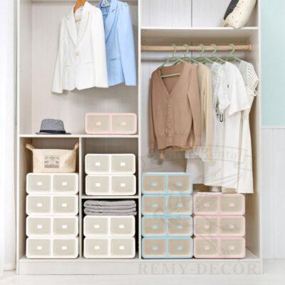 plastikovye korobki s razdelitelyami dlya melkoj odezhdy drawer dividers closet