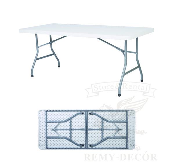 plastikovyj belyj stol dlya restoranov plastic foldable banquet tables