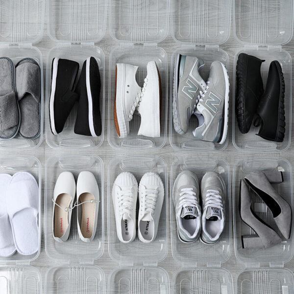 polipropilnovye plastic box shoes kontejnery dlya domashnego xraneniya obuvi ukraina