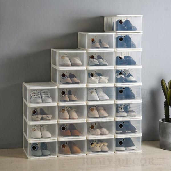przrachnyj organajzer dlya xraneniya muzhskoj i zhenskoj obuvi doma clear plastic drop front storage