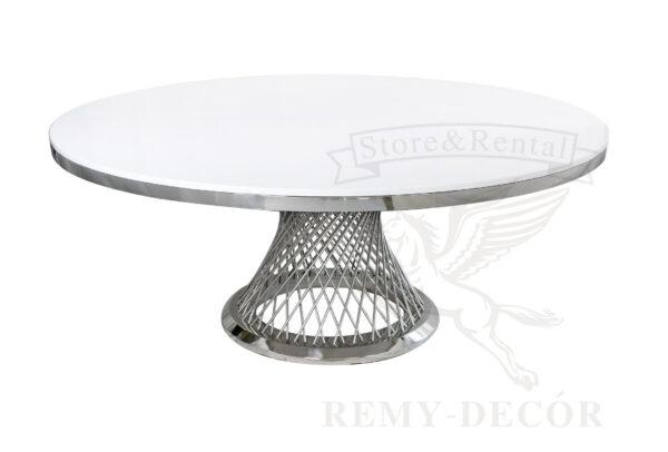 bolshoj kruglyj obedennyj stol royal gerold v ukraine steel frame wedding dining table