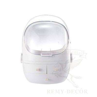 makeup box belyj organajzer dlya xraneniya kosmetiki ukraina