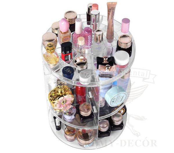 mnogofunkcionalnaya akrilovaya podstavka dlya kosmetiki i parfyumerii ukraina