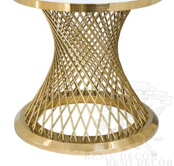 pozolochennye stoly iz nerzhavejki royal gerold iz prproutev