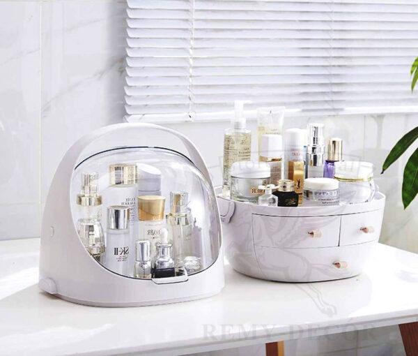 sovremennyj organajzer dlya xraneniya kosmetiki parfyumerii i bizhyuterii