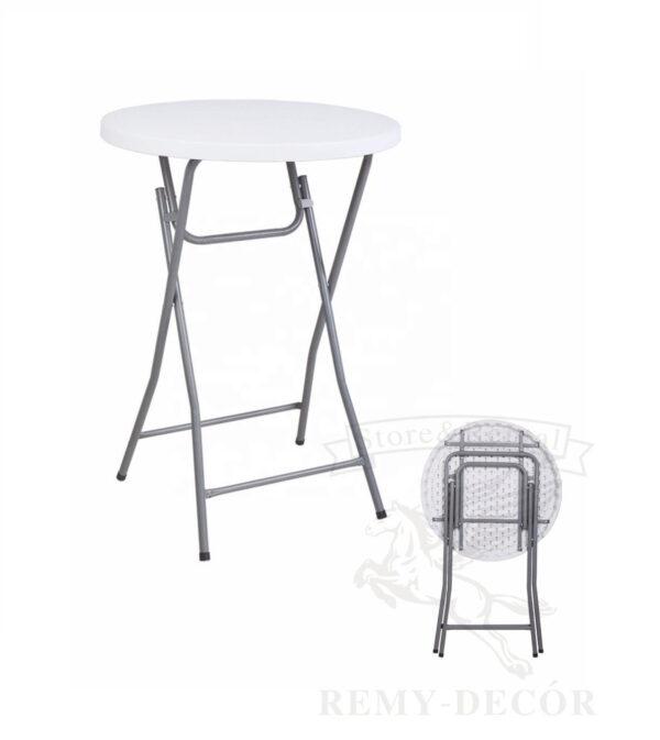 kruglyj barnyj stol iz plastika cml round ukraina