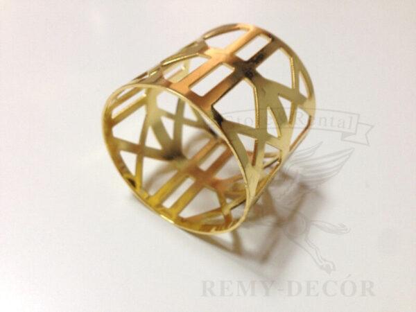 """Золотое кольцо на салфетки """"Леман"""""""