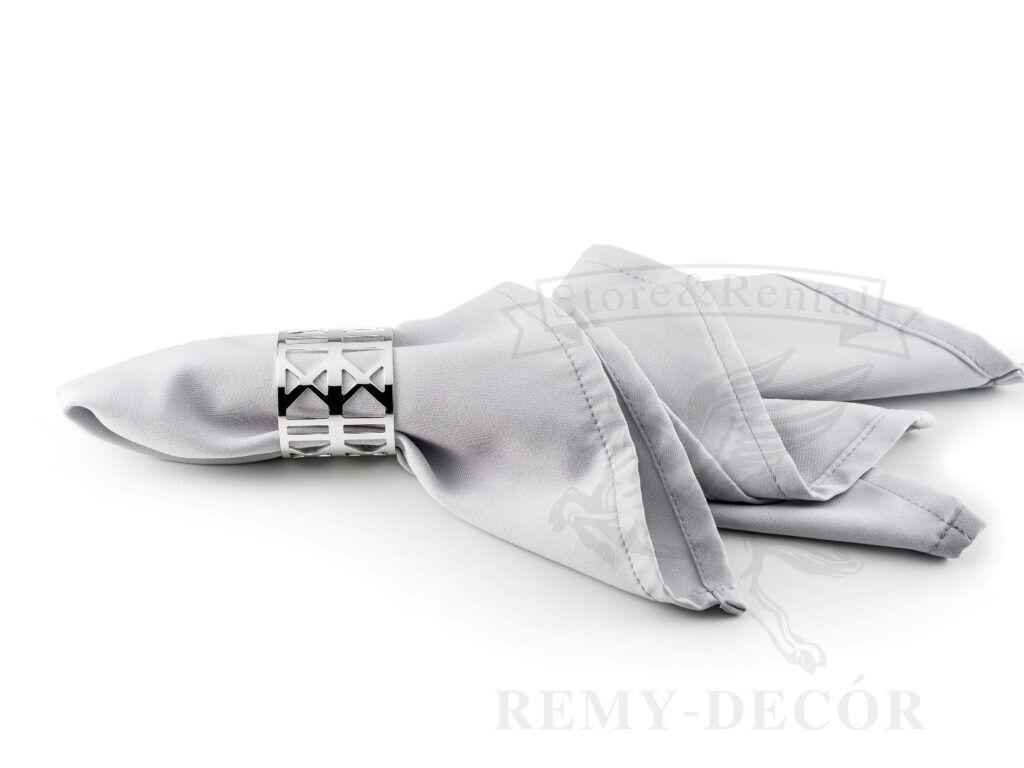 metallicheskoe kolco dlya tekstilnyx salfetok leman ot remy decor