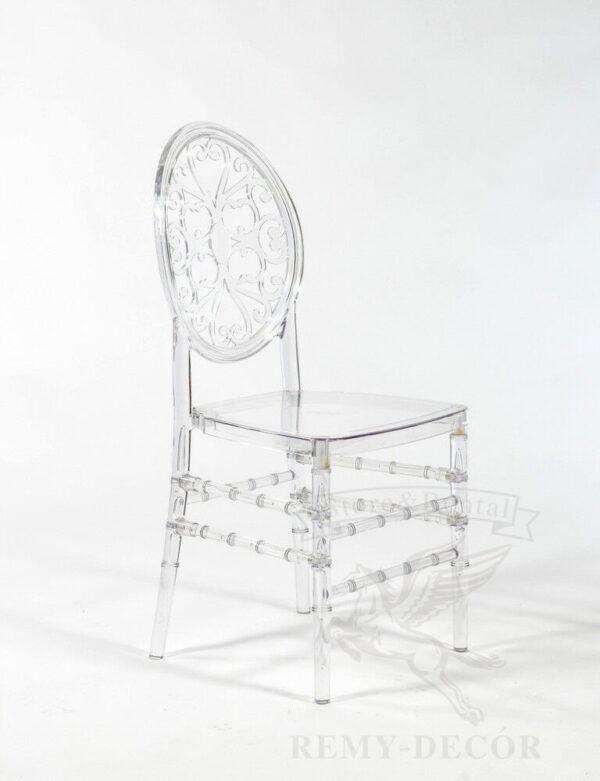 stul prozrachnyj polikarbonatnyj viven dlya doma kuxni stolovoj iz plastika polipropilena