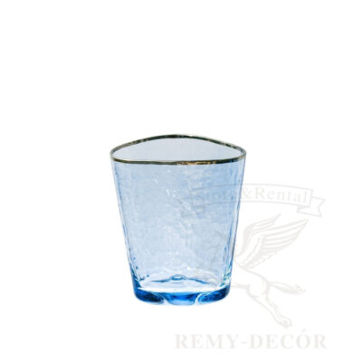 xejbol stakan sinego cveta dlya vody s zolotoj kajmoj