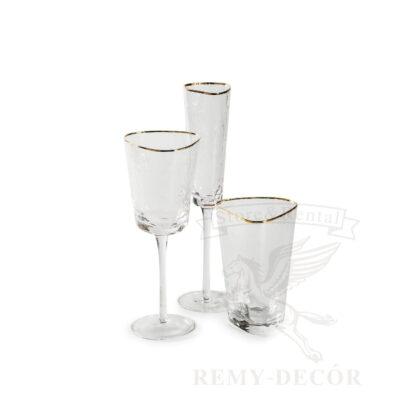 bokaly evans dlya shampanskogo dlya vina xejbol prozrachnyj iz stekla
