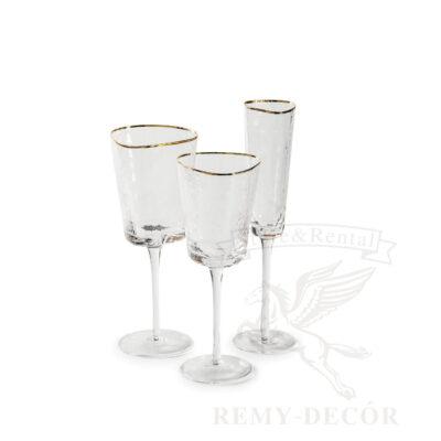 komplekt podarochnyx fuzherov vino shampanskoe s zolotym kantom