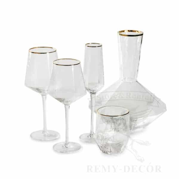 nabor fuzherov biryuza s dekanterom dlya vina i stakanom